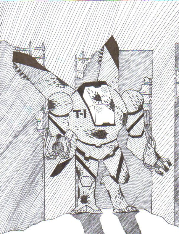 T-1 slayer robot