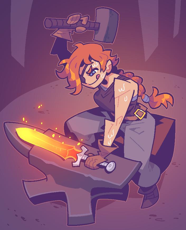 SECRET SANTA: blacksmith
