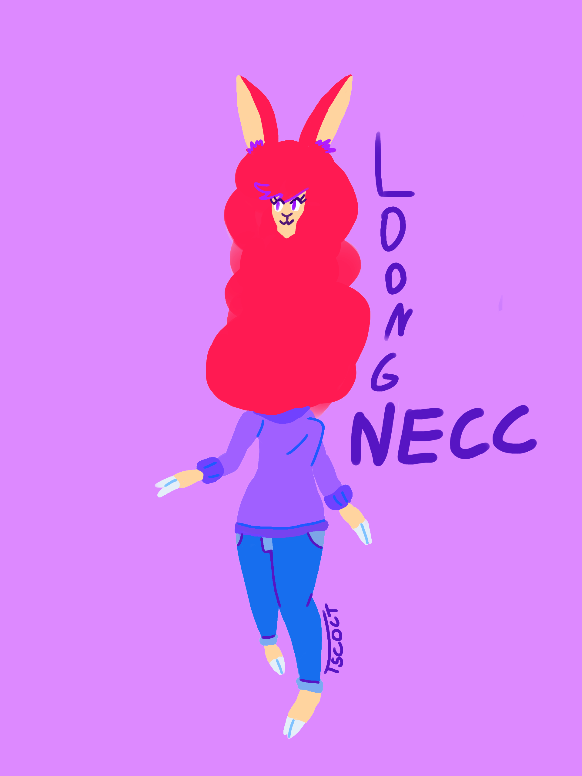 Loong necc Sarah(+3 other versions)