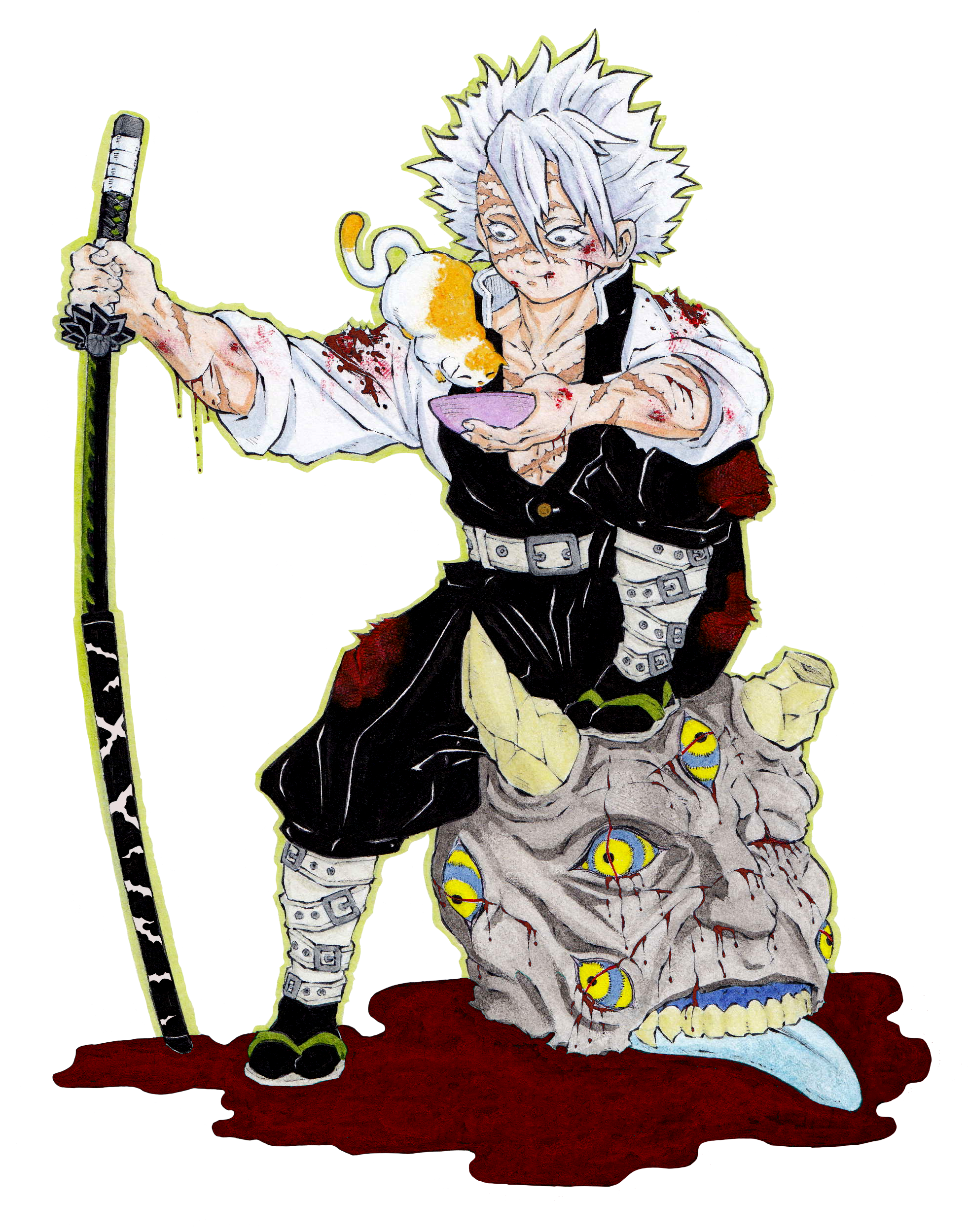 Sanemi Shinazugawa Demon Slayer