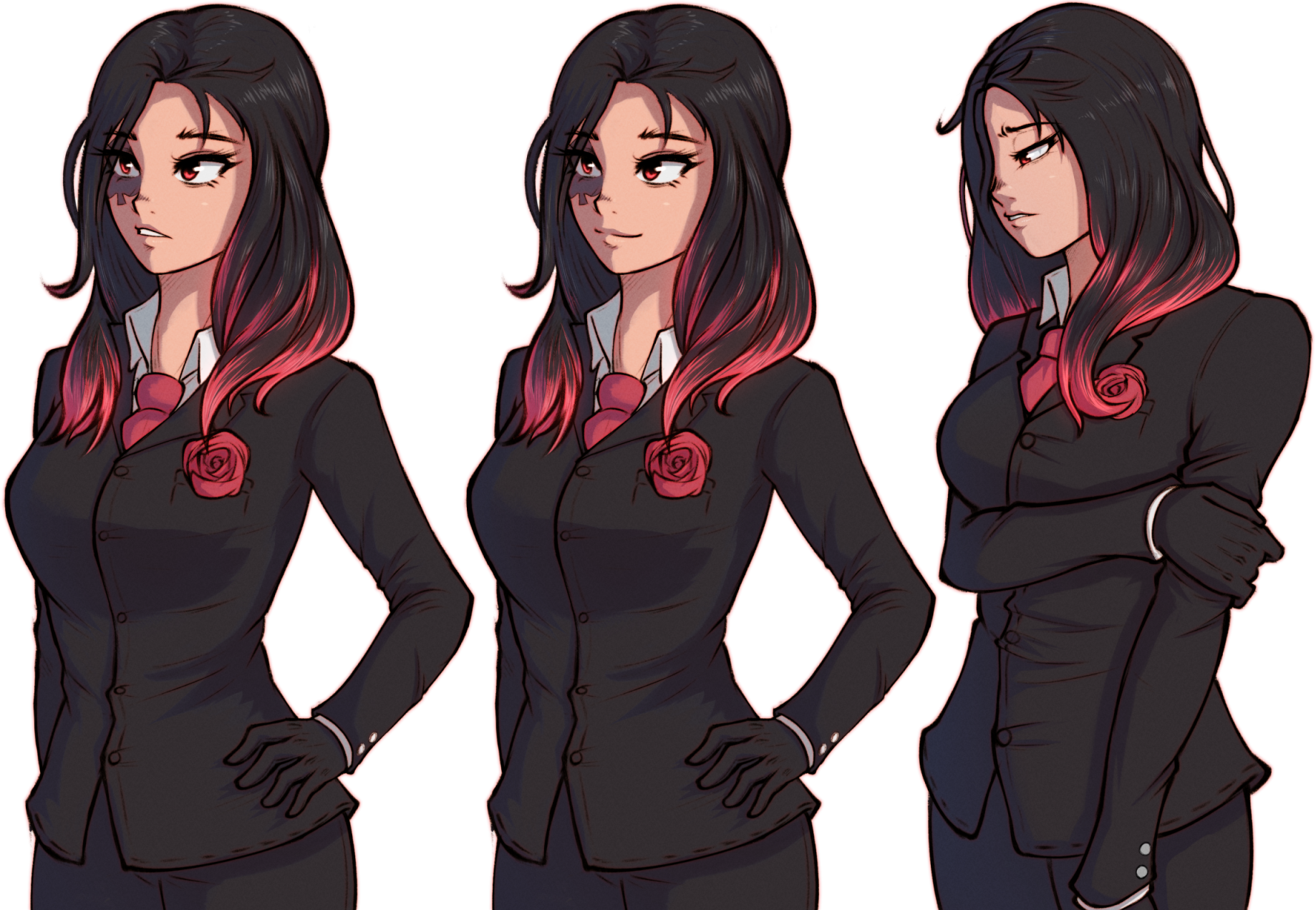 Visual Novel Commission: Main Character Portraits