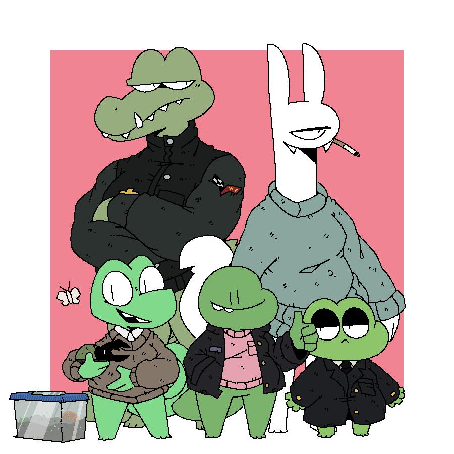 crunchy pals