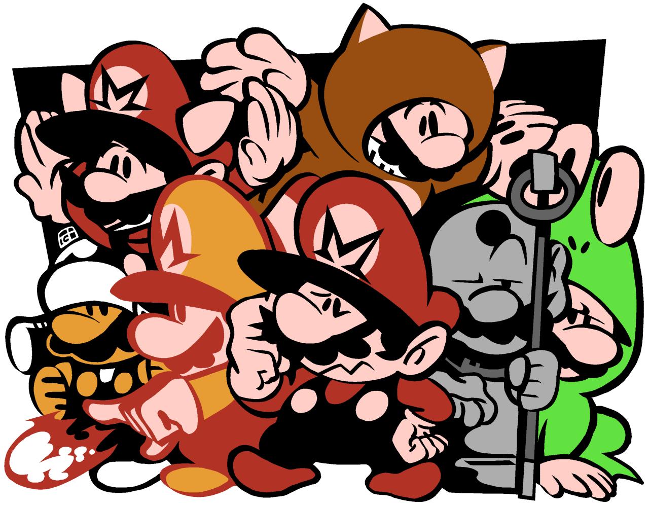 SMB3 Marios