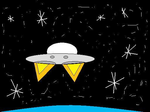 MS Paint Spaceship