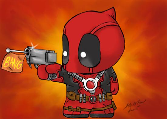 The little Deadpool