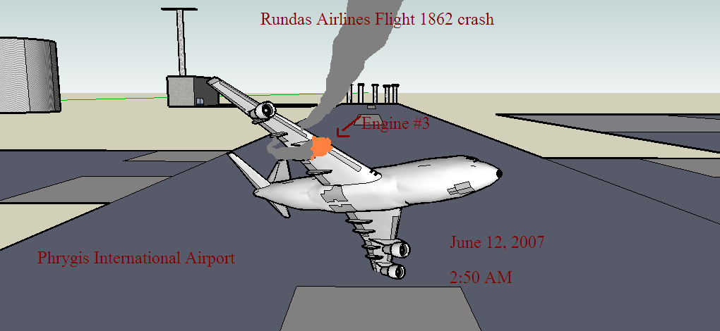 Crash of R A Flight 1862