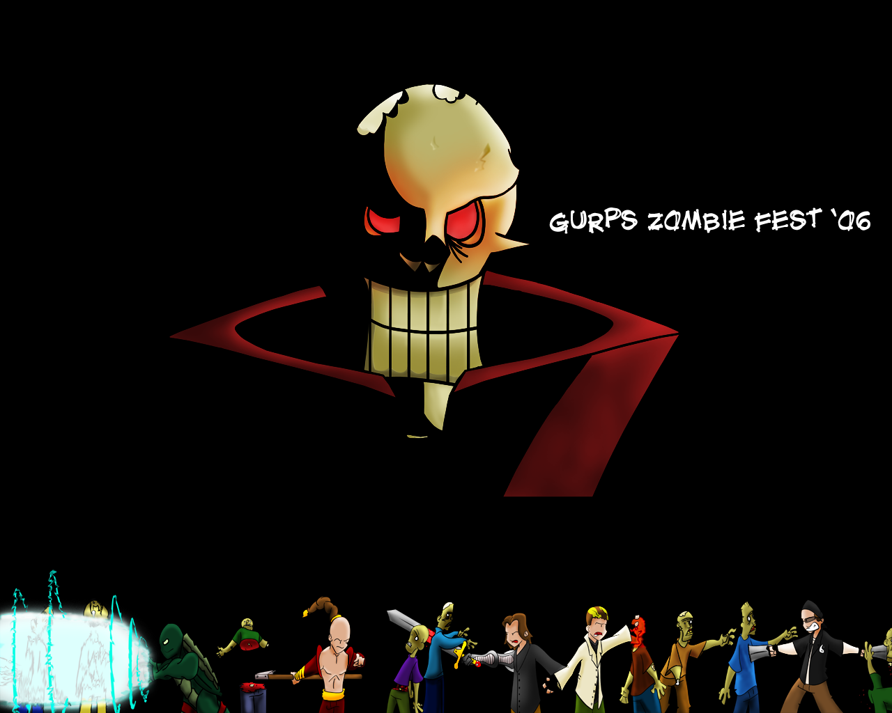 Gurps Zombie Fest '06 poster