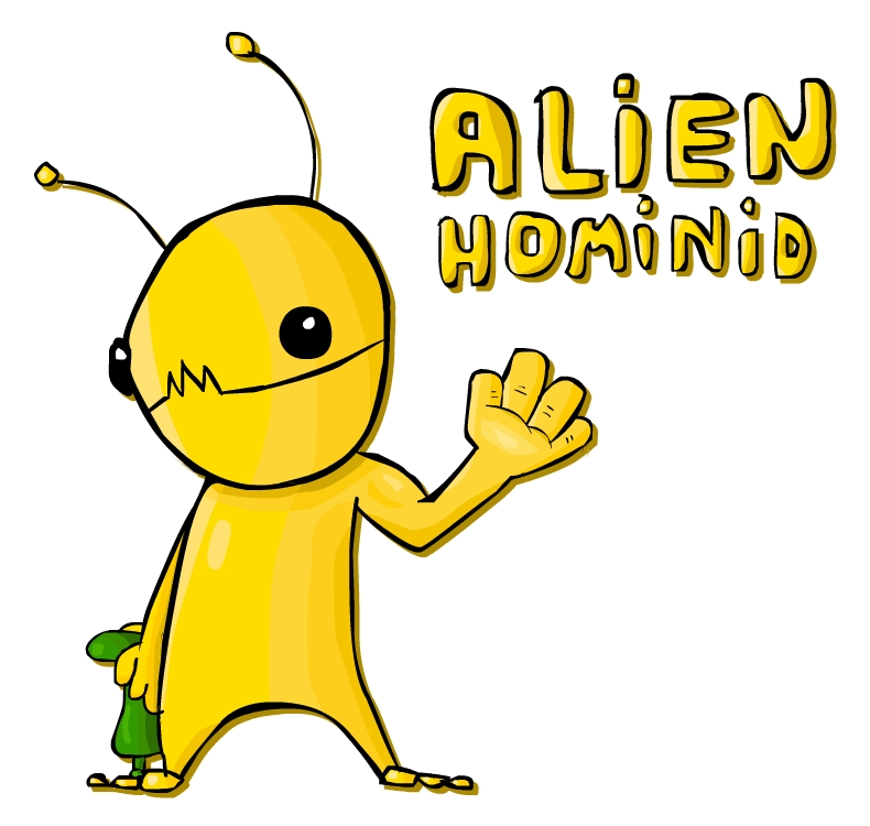 Alien Hominid Fan Art