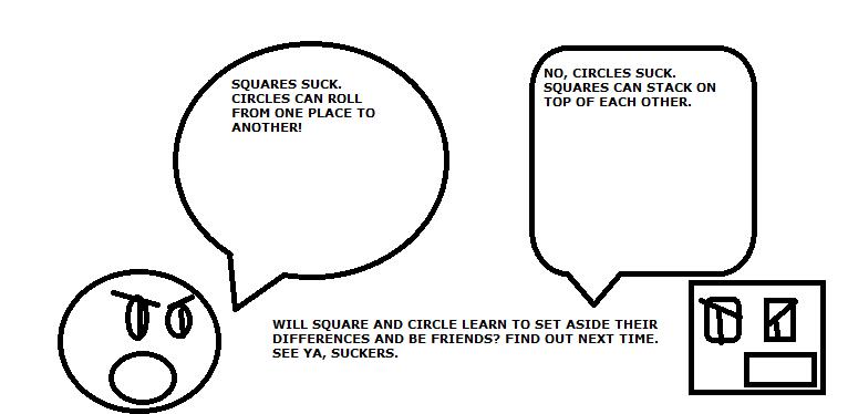 Square and Circle Eps. 1