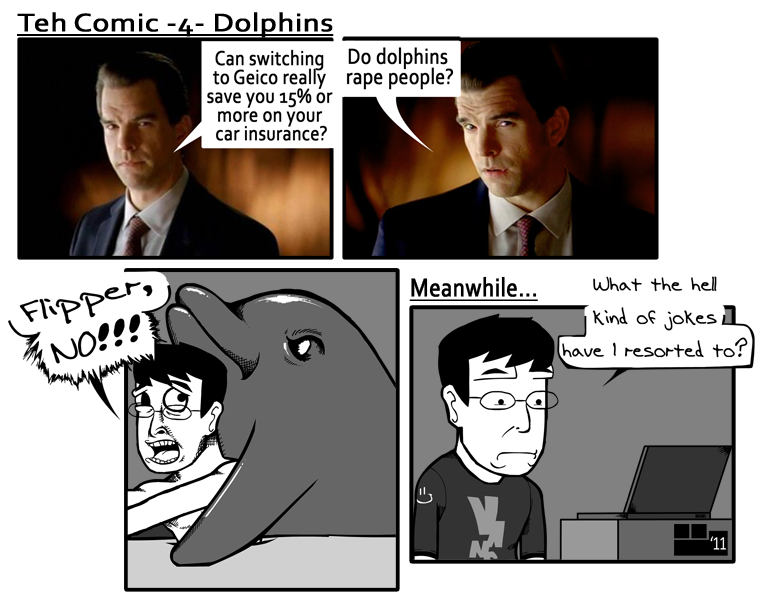 Teh Comic - 4 - Dolphins