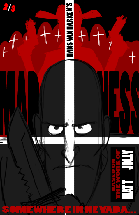 Madness Comic Cover Test2