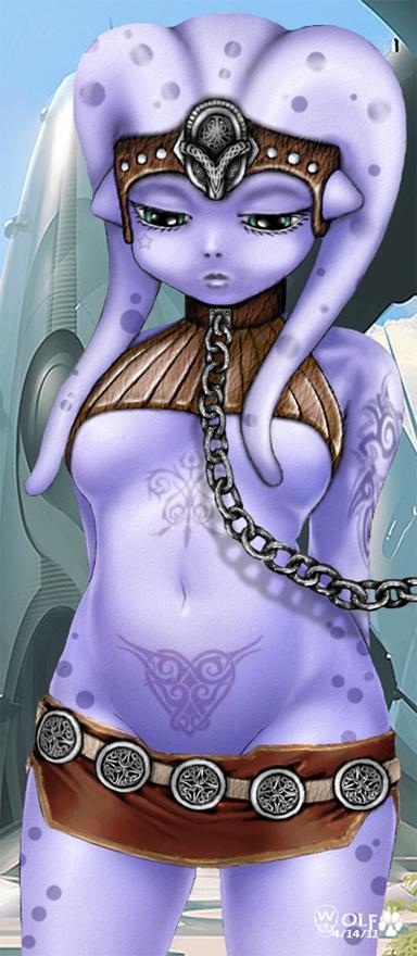 Twi'lek Slave Girl