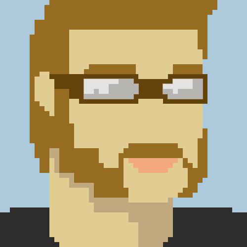8-Bit Self Portrait