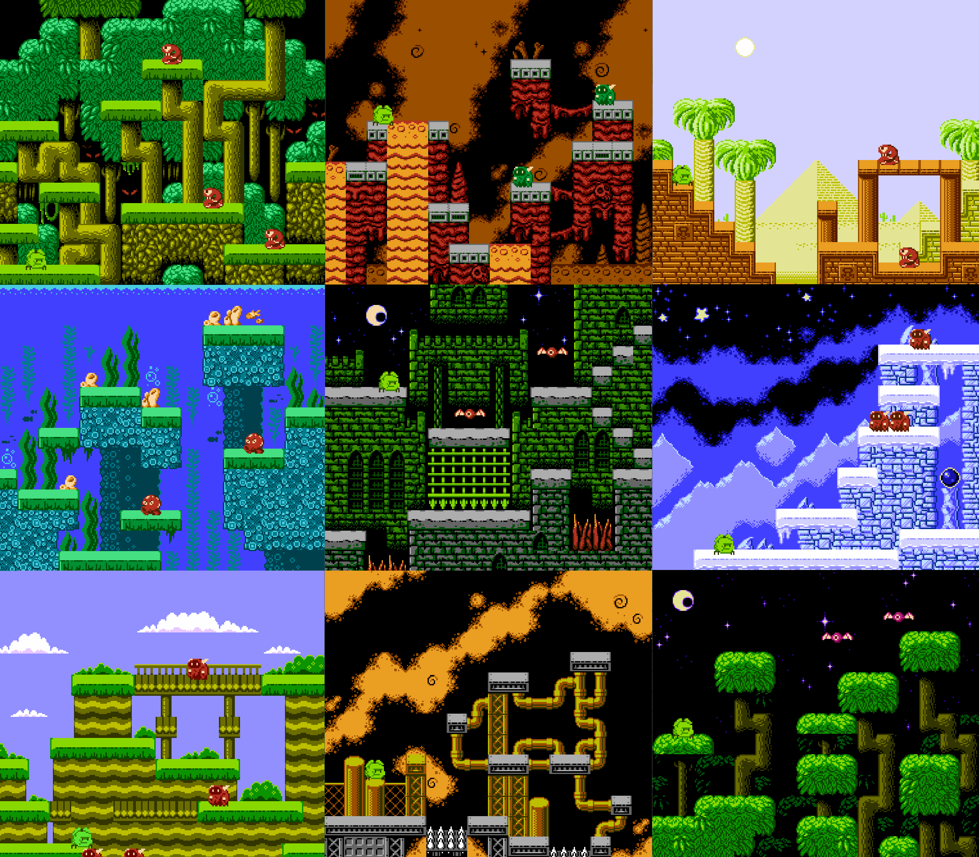 WIP NES Game