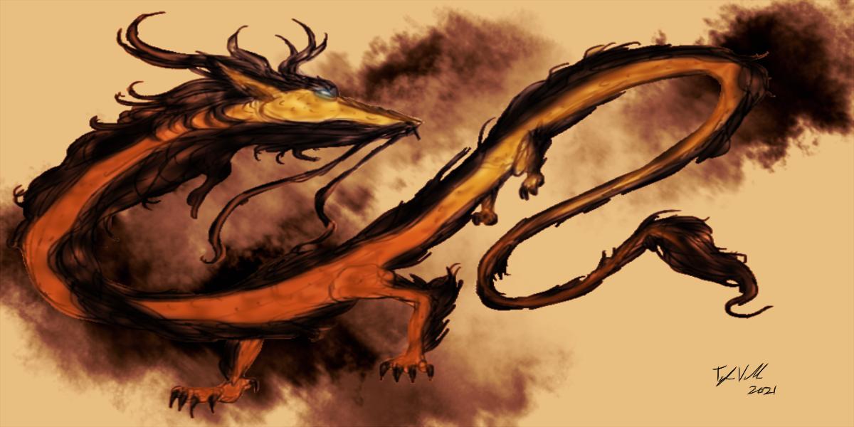 Dragon Krukaro Art