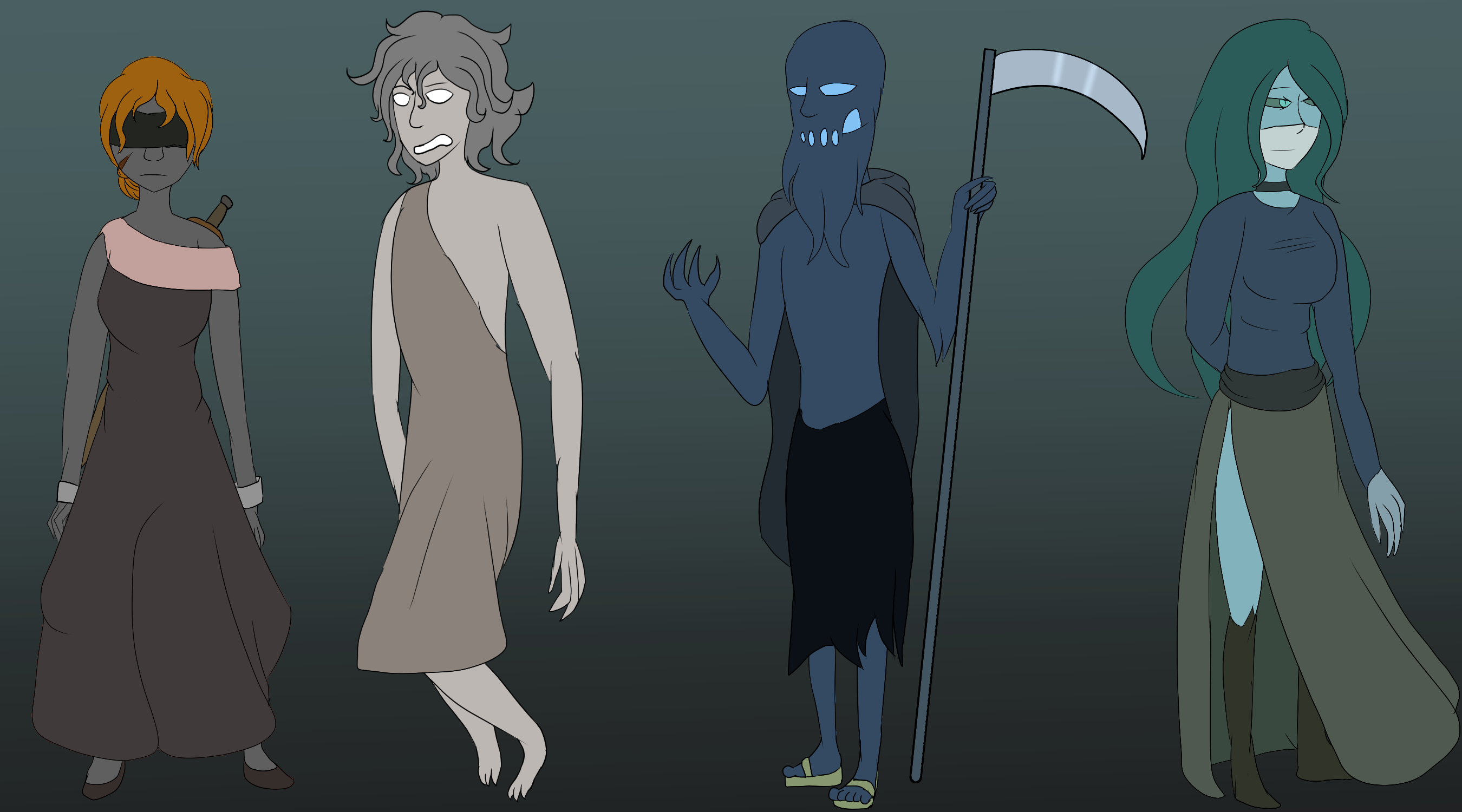 [Character Concept] Four Keepers