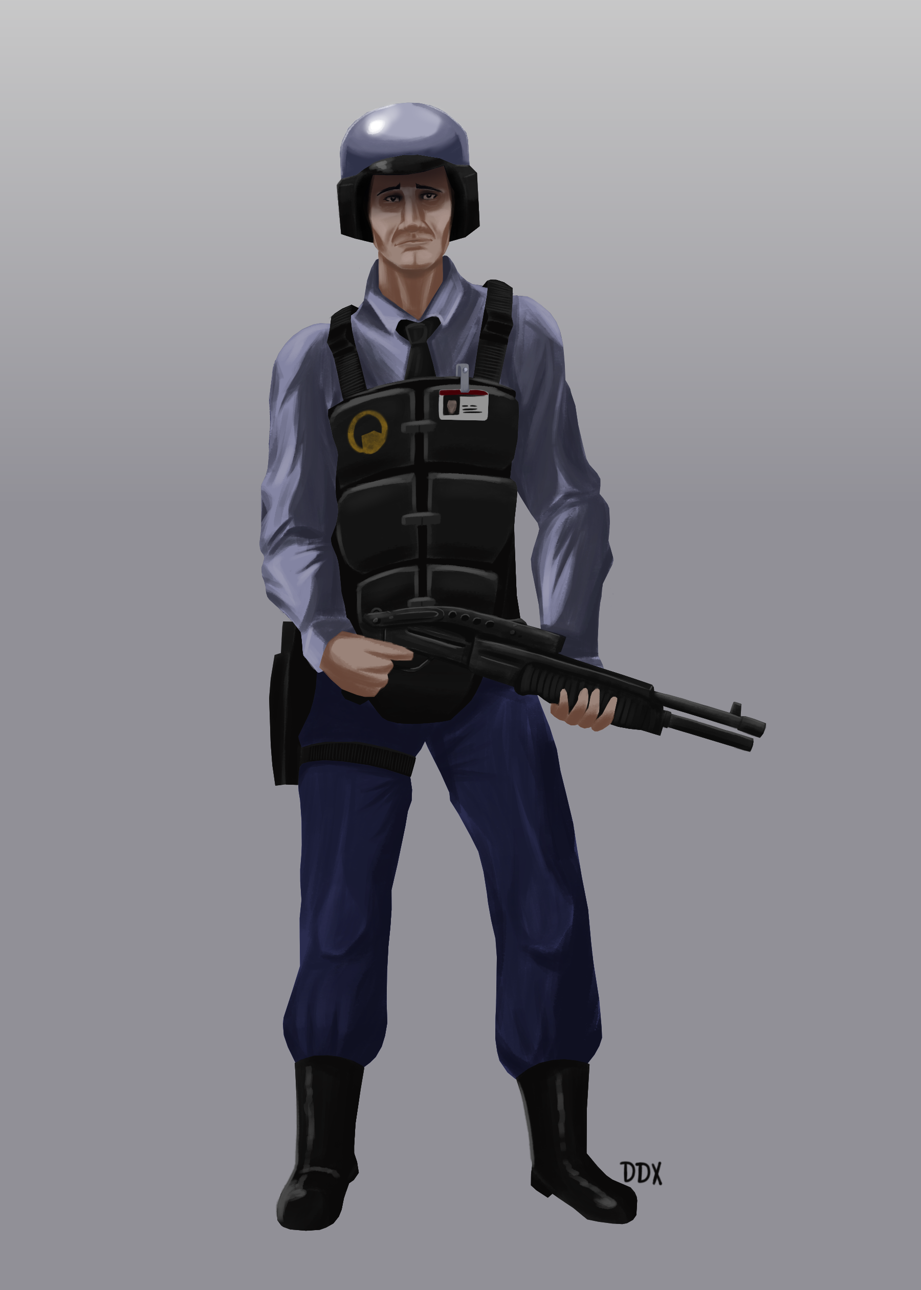 Black Mesa Security Officer