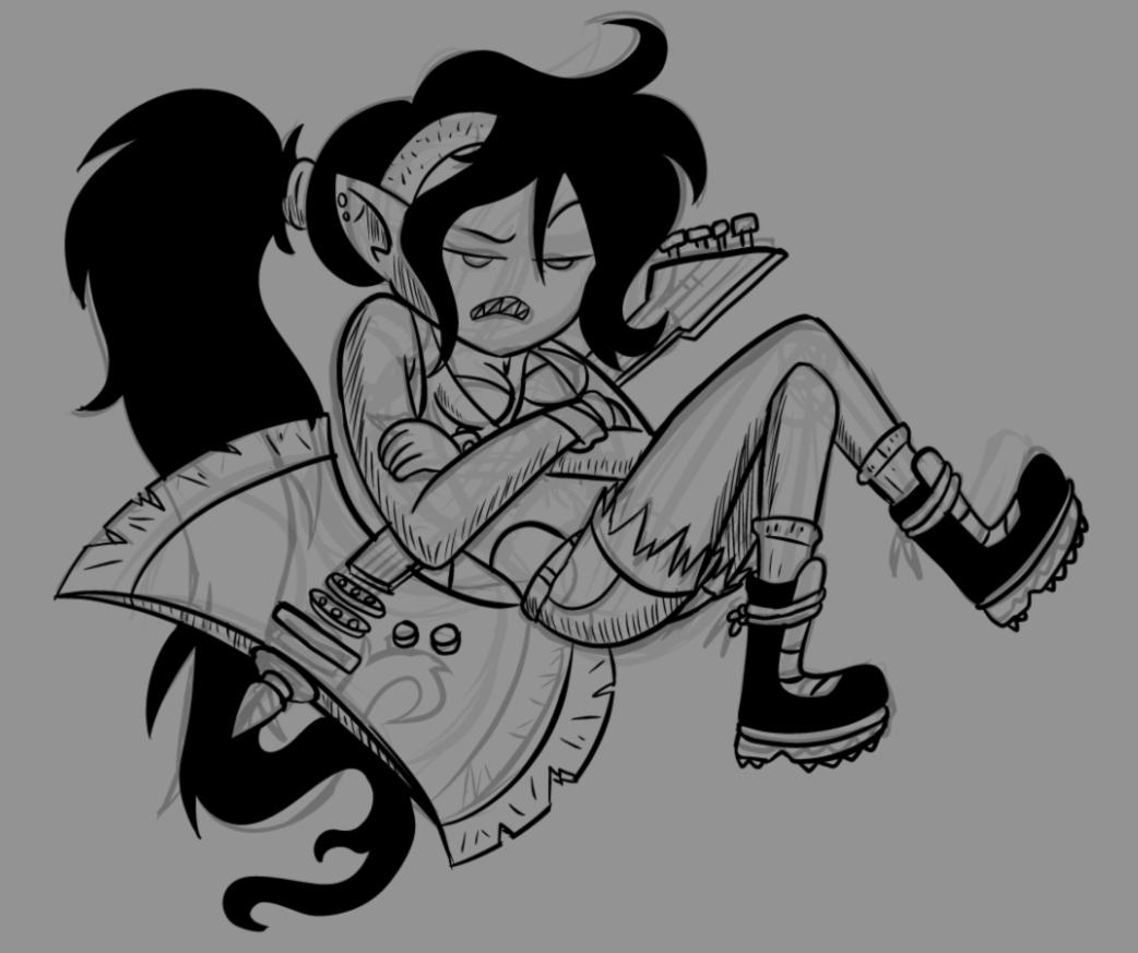 Screenshot Doodle Marceline