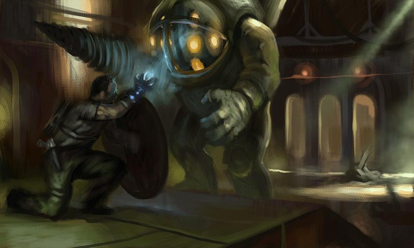 Bioshock speedpaint
