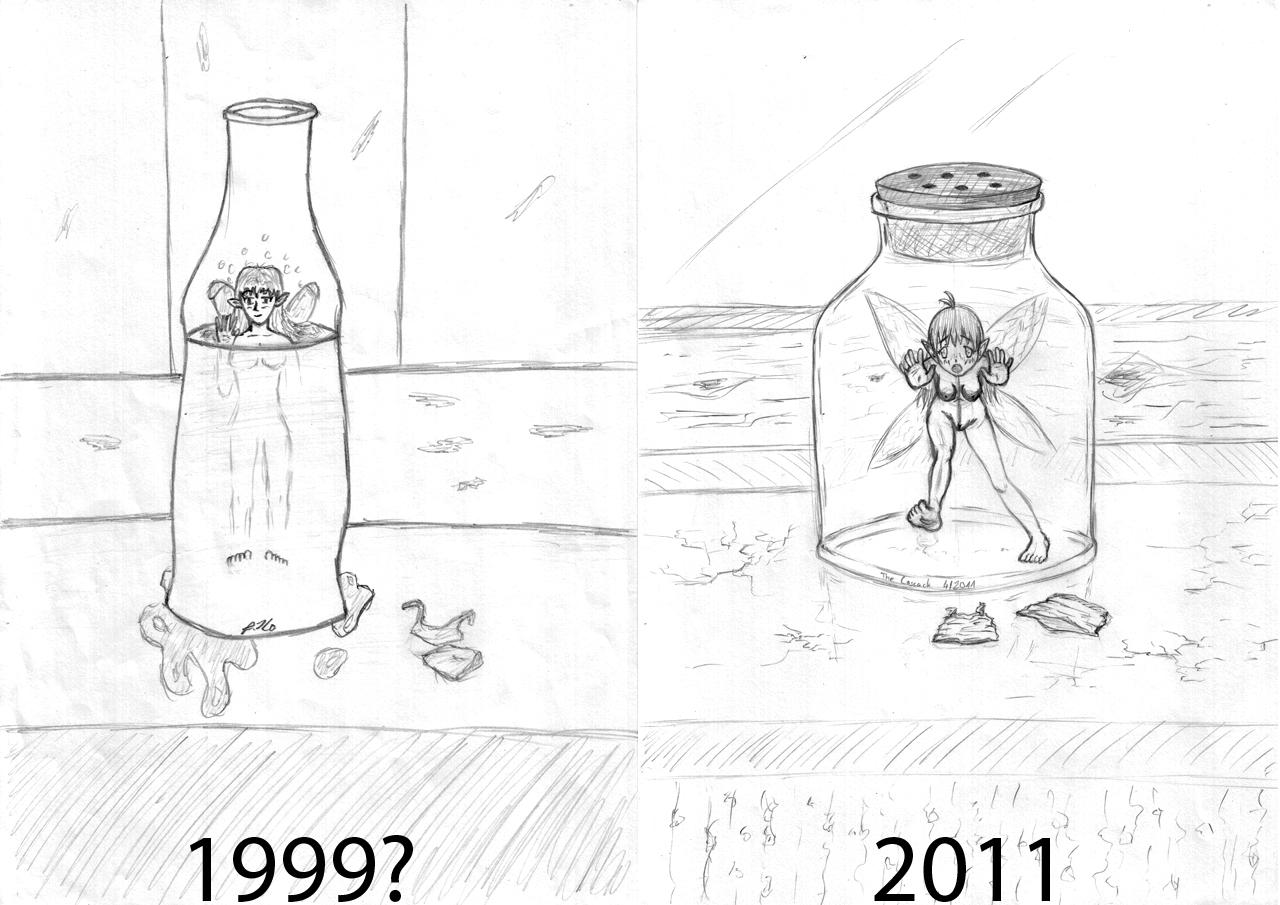 Bottled fairy comparison