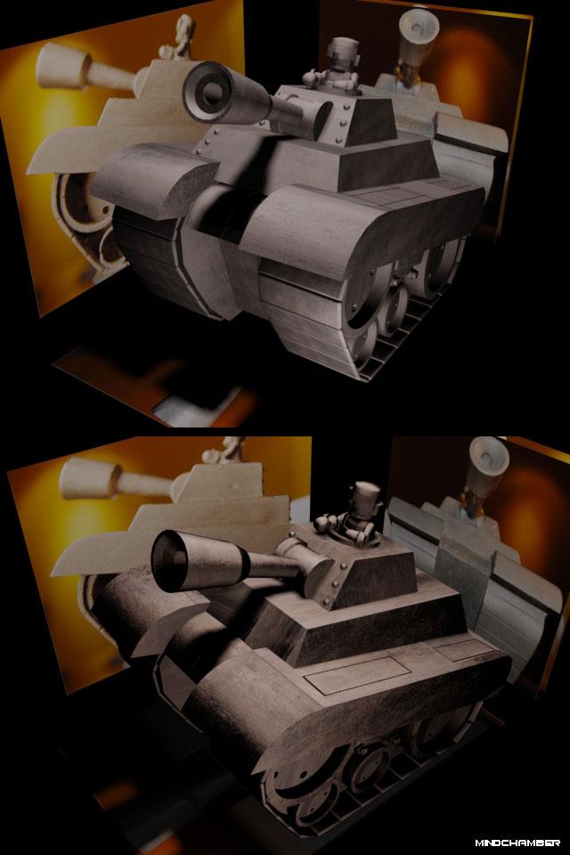 3D Tank Trophy