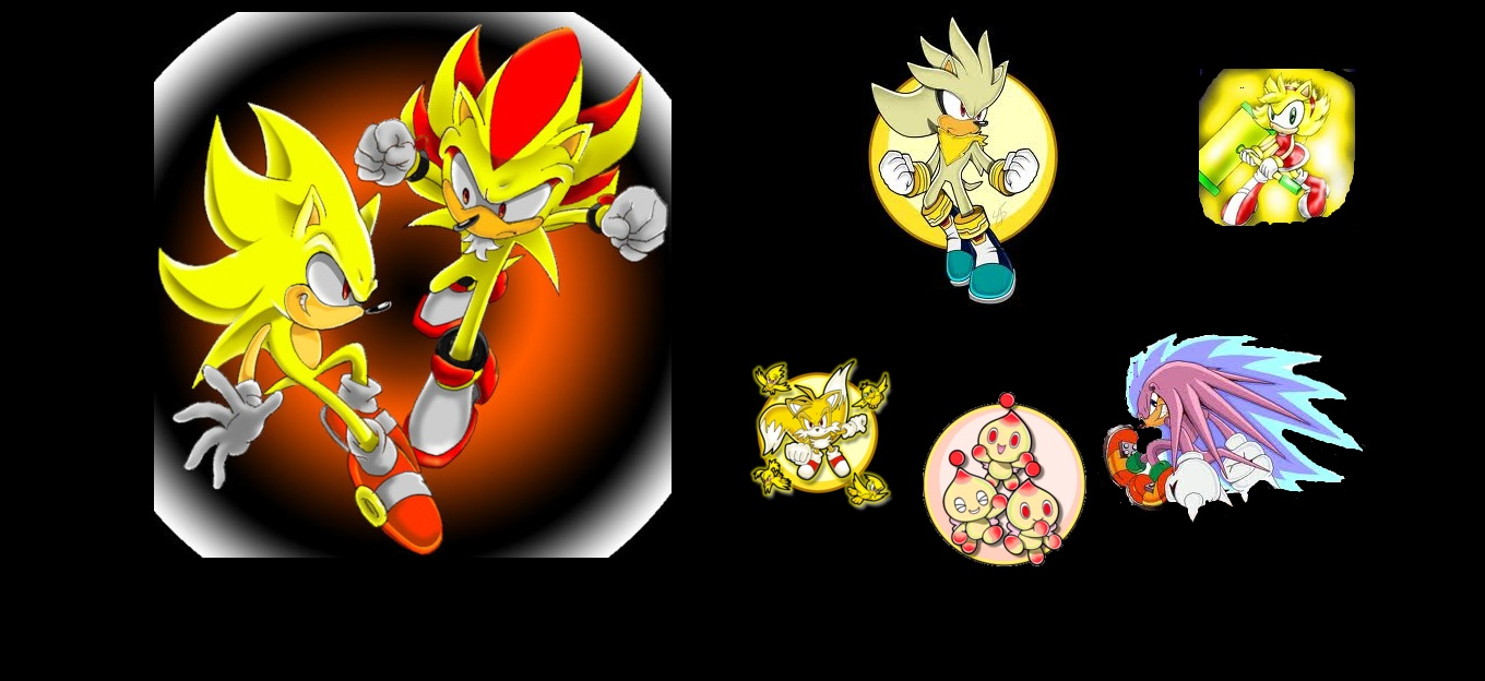 super sonic and friends
