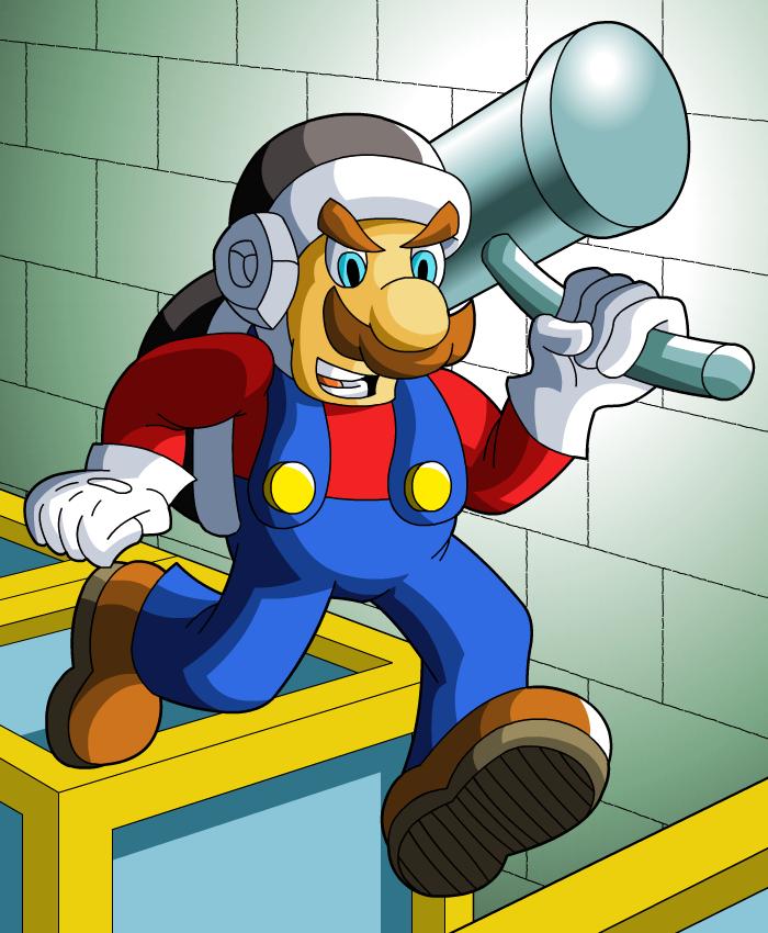 Hammer Mario: Let's-a Go!
