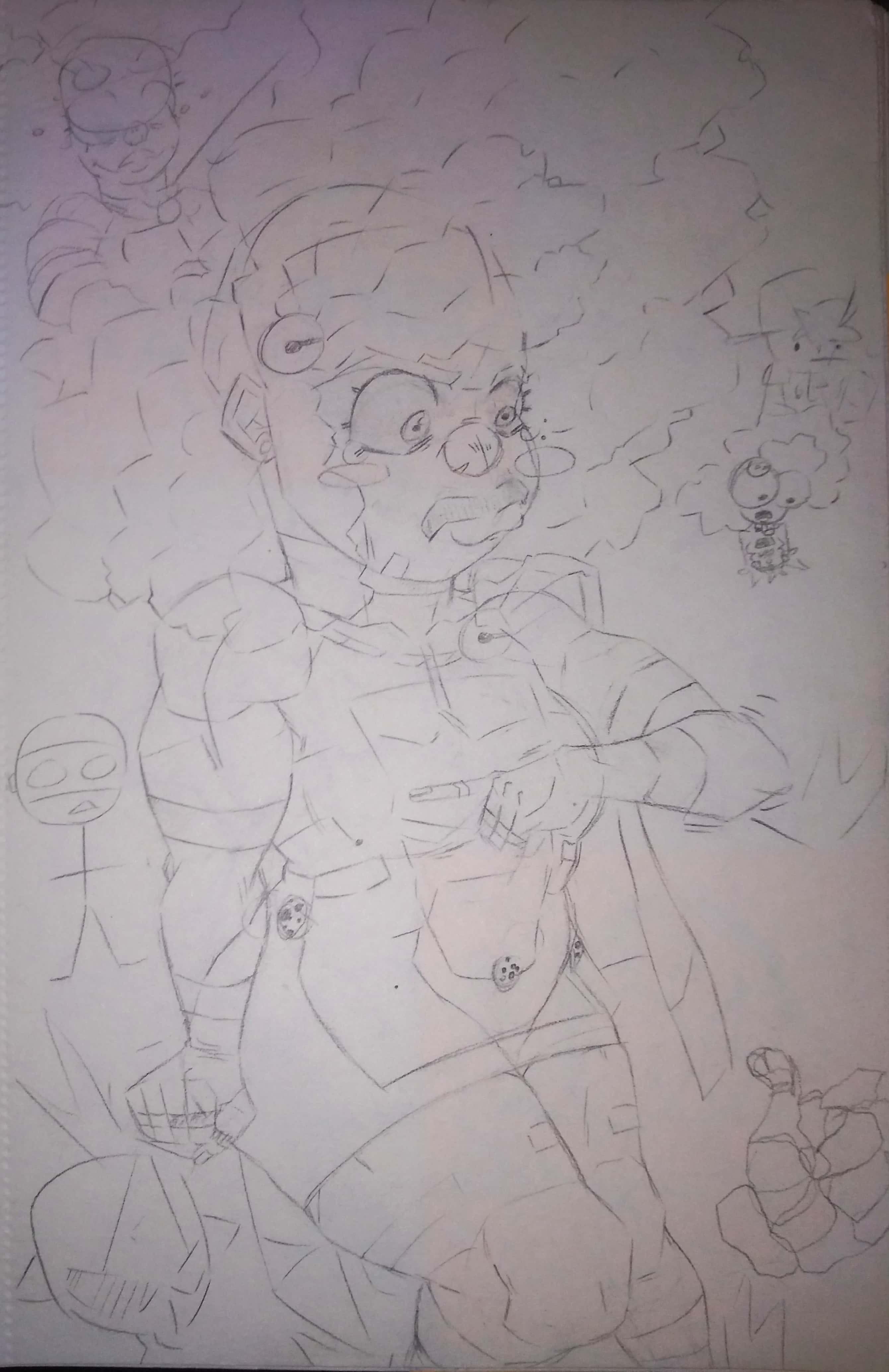 Sketch book dump