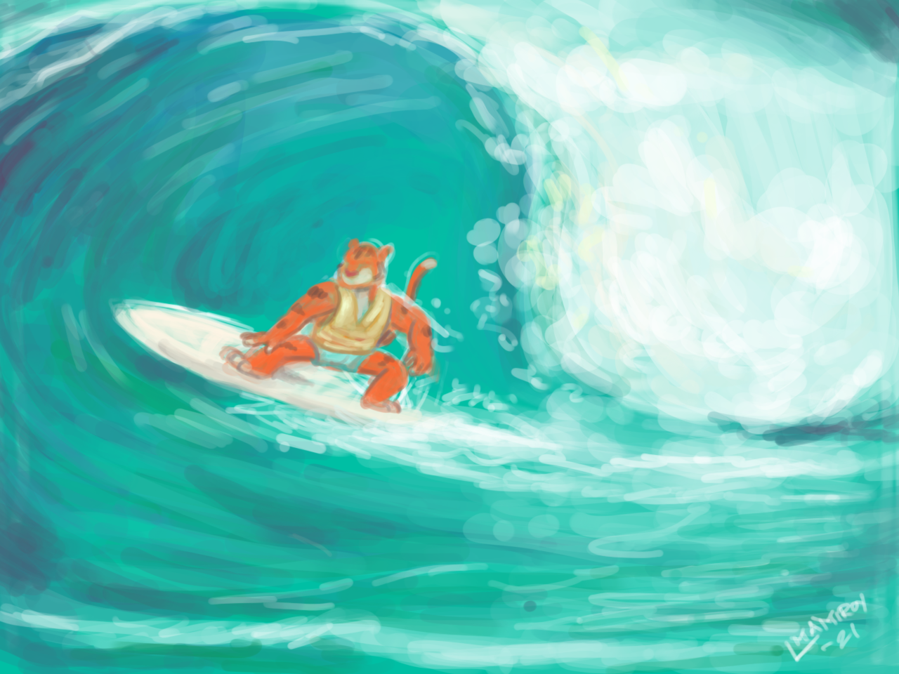 Tiger Wipeout