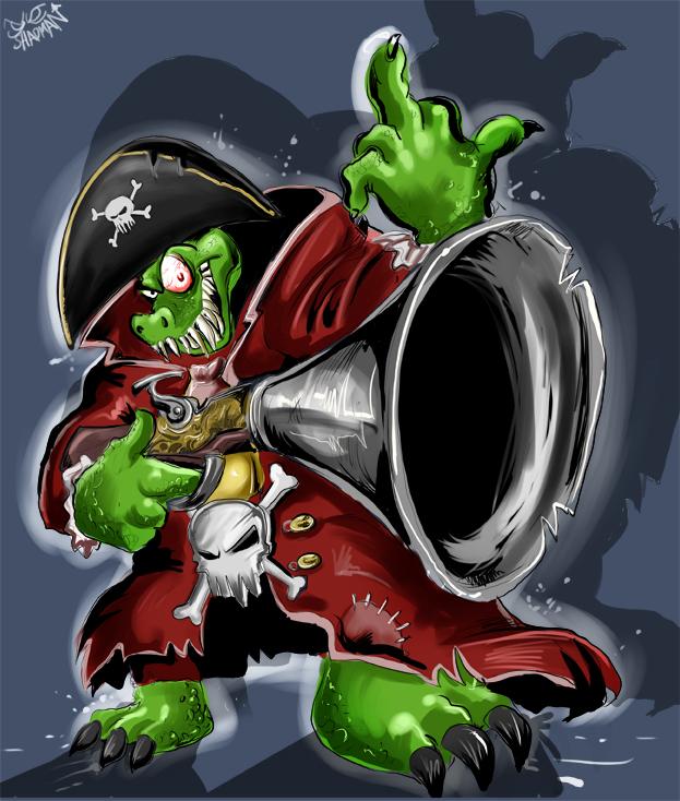 The Kremling Captain