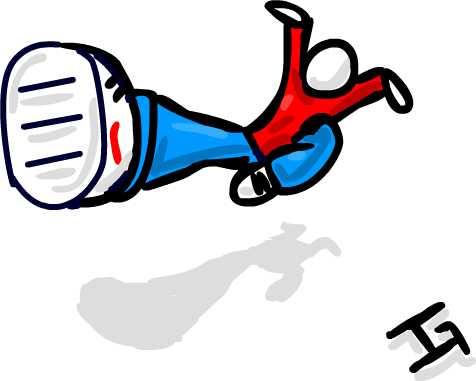 fly-kick