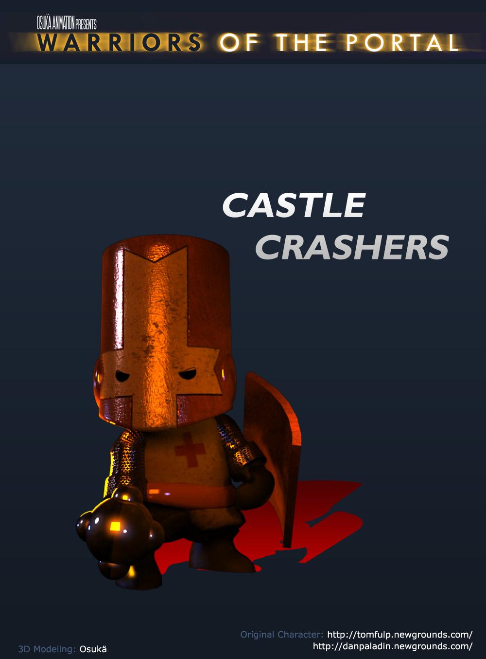 3D Castle Crasher