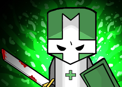 castle crashers green knight by eskibro on newgrounds