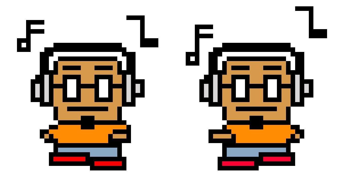 Pixelated Animation