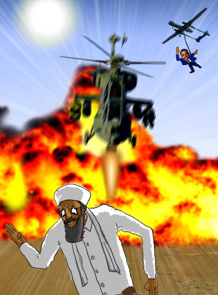 Bin Laden Ladead....?