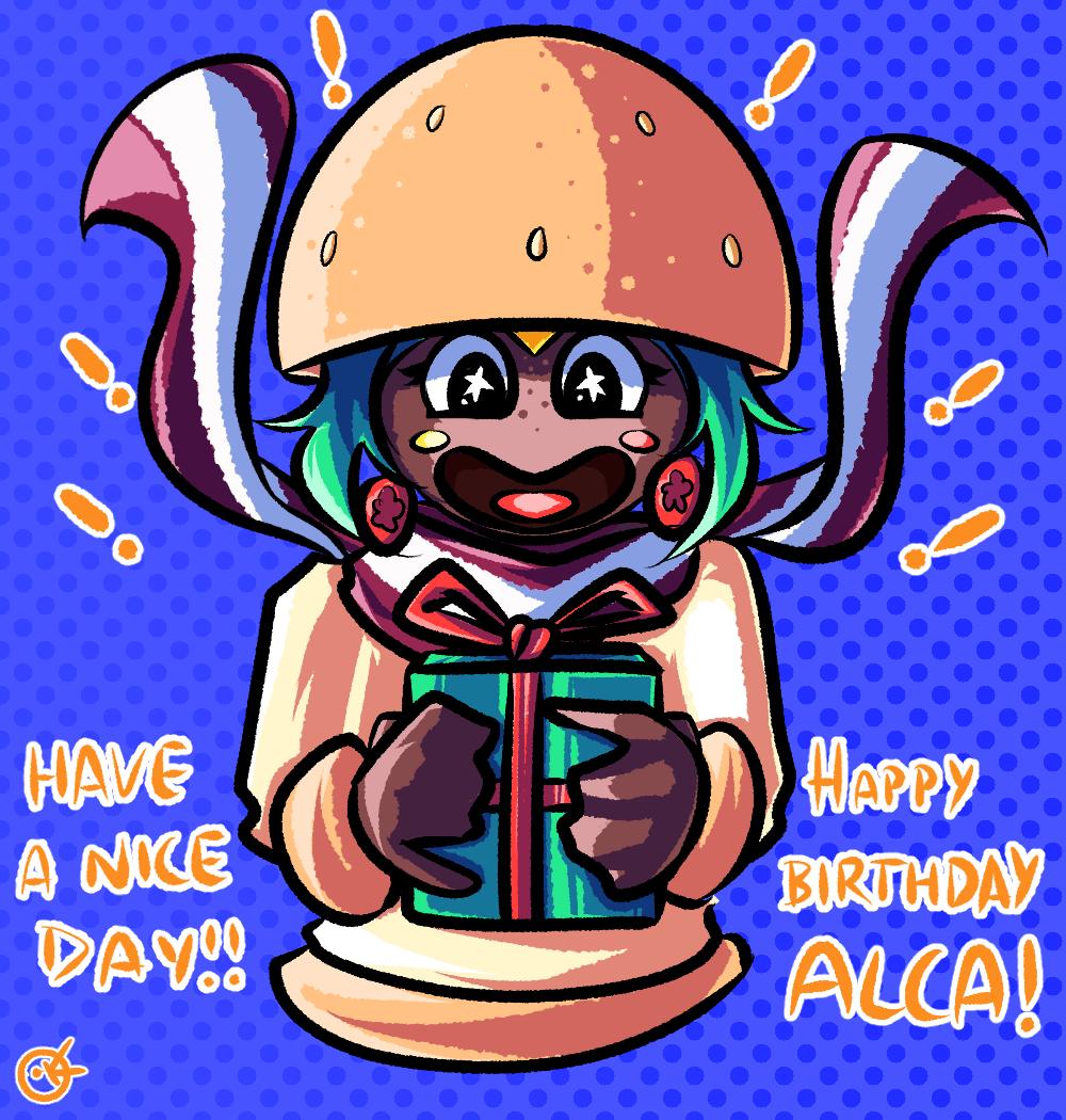 Birthday present for Alca!