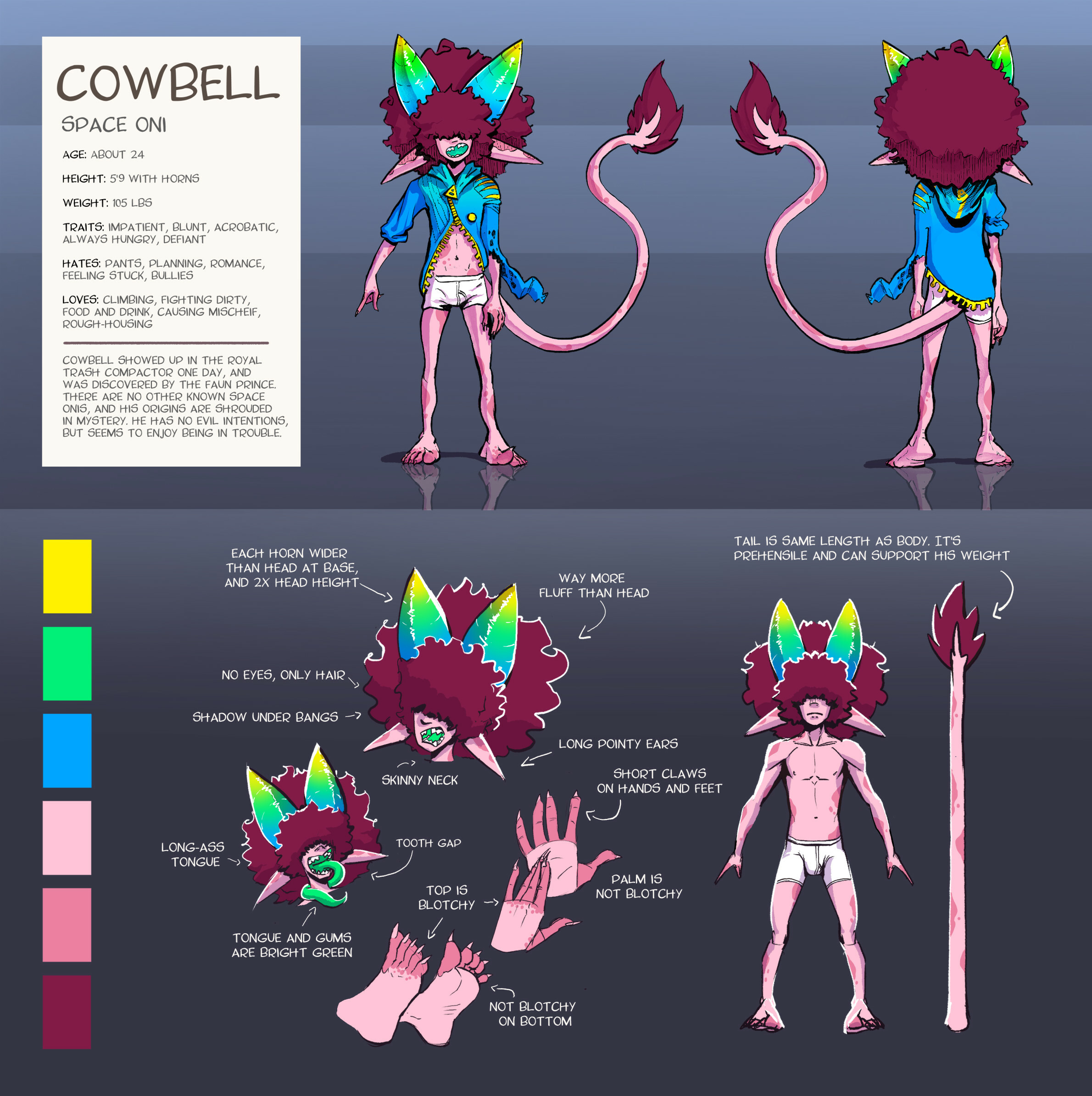 Cowbell Ref Sheet
