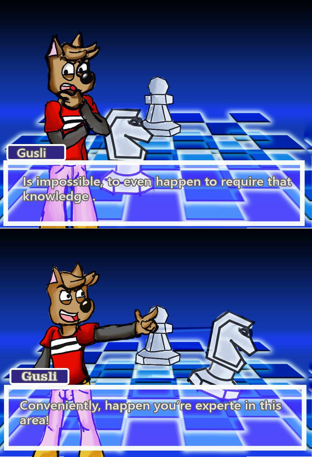 Logic Chess Gusli