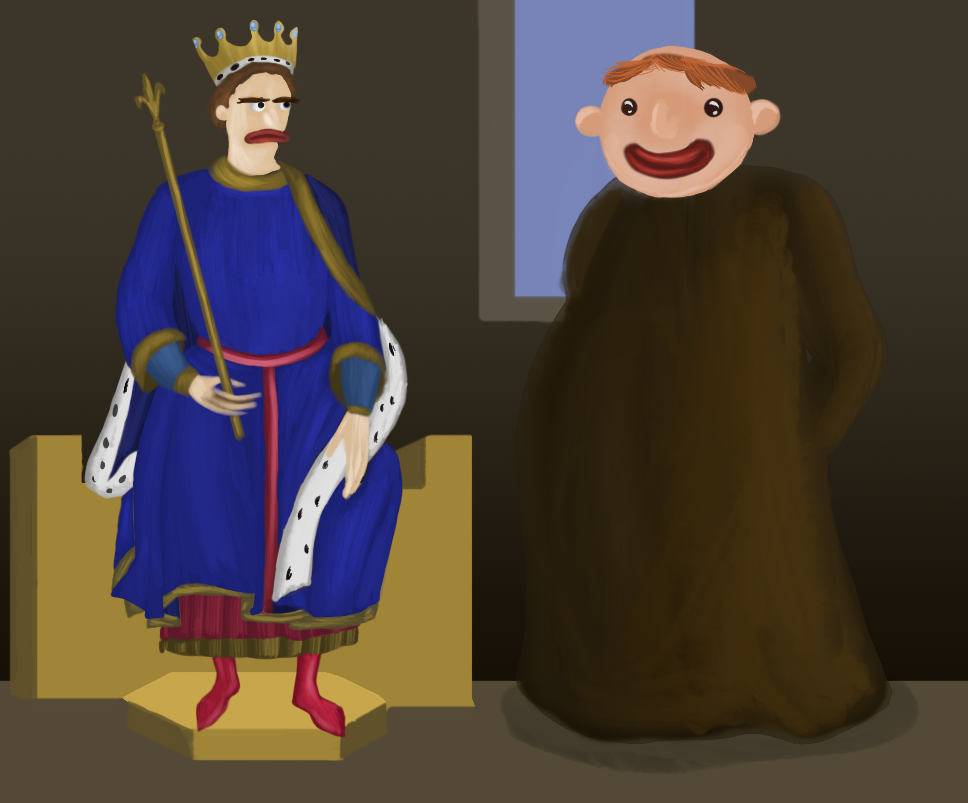 The King and the Monk