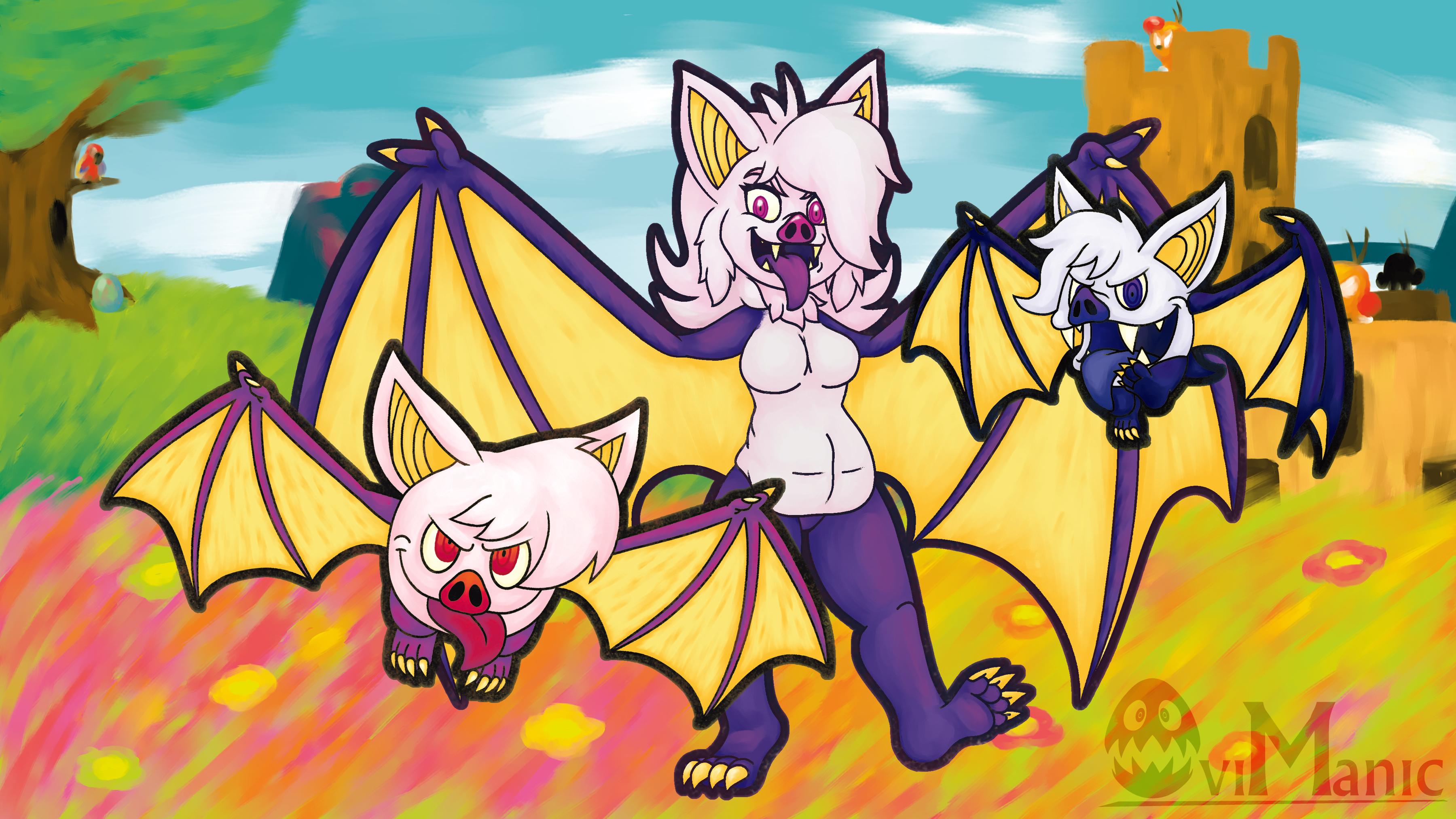 Dormant Art 01: Vampli and Creepies