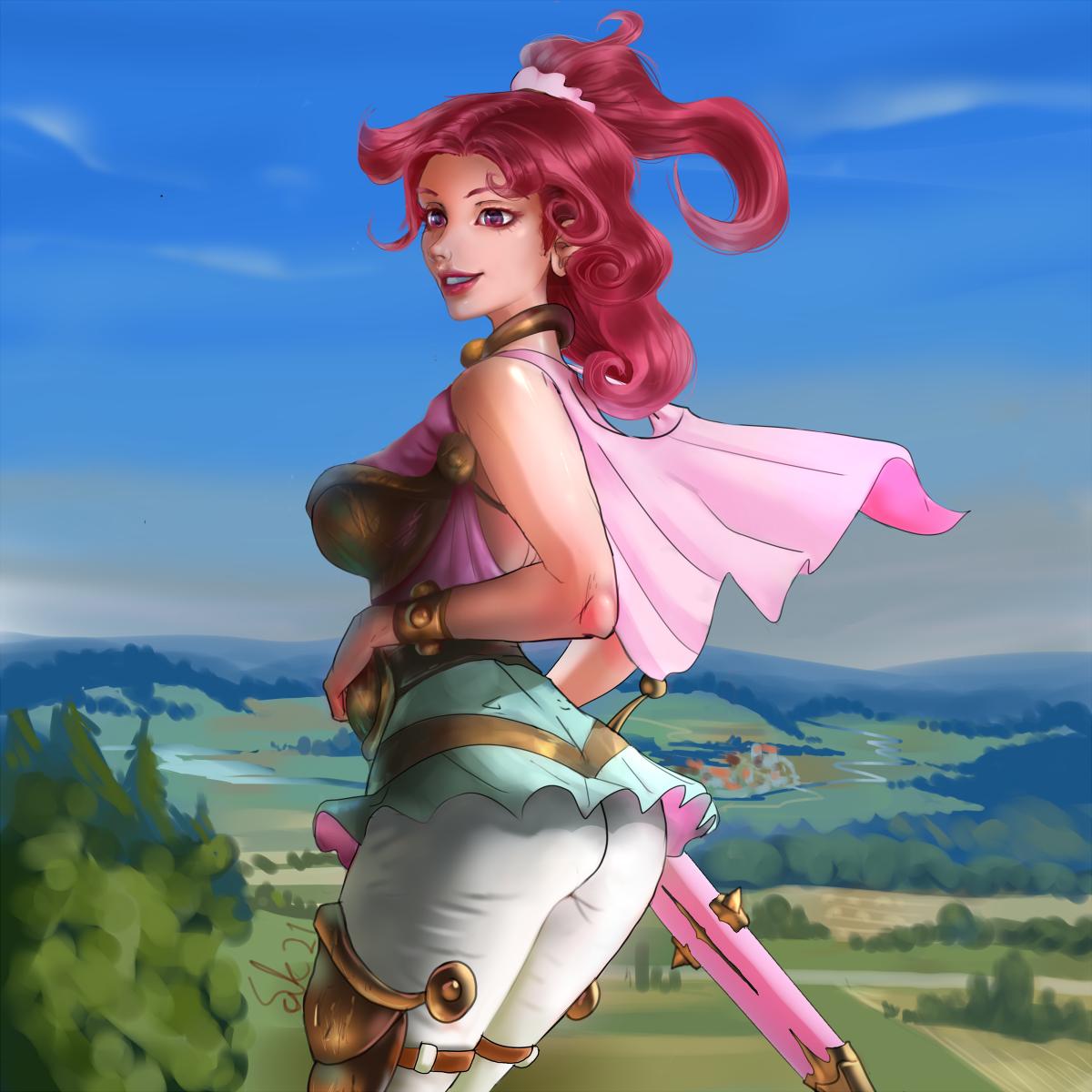 Rose swordmaiden
