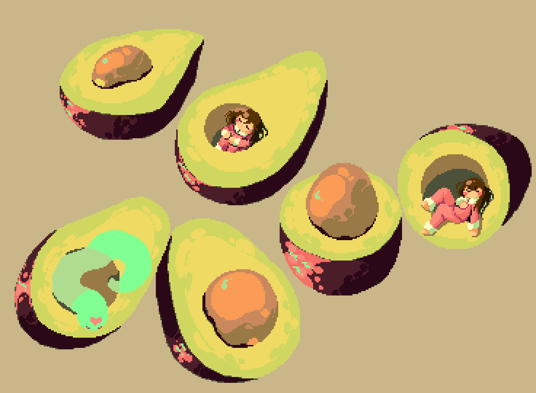 avocado pajama party