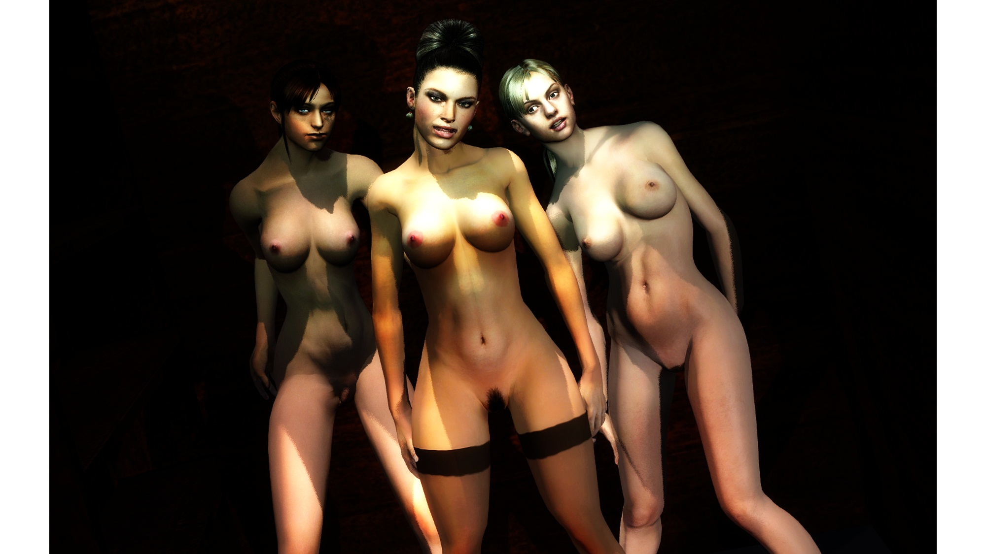 girl from resident evil nude