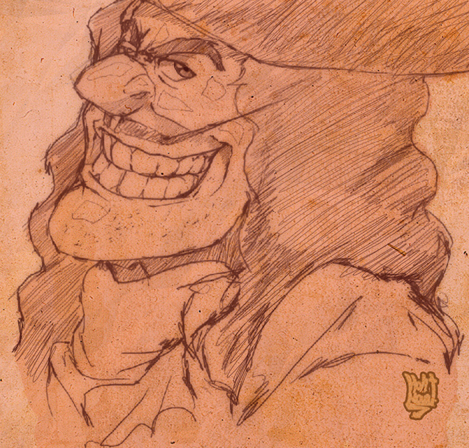 Captain hook sketch