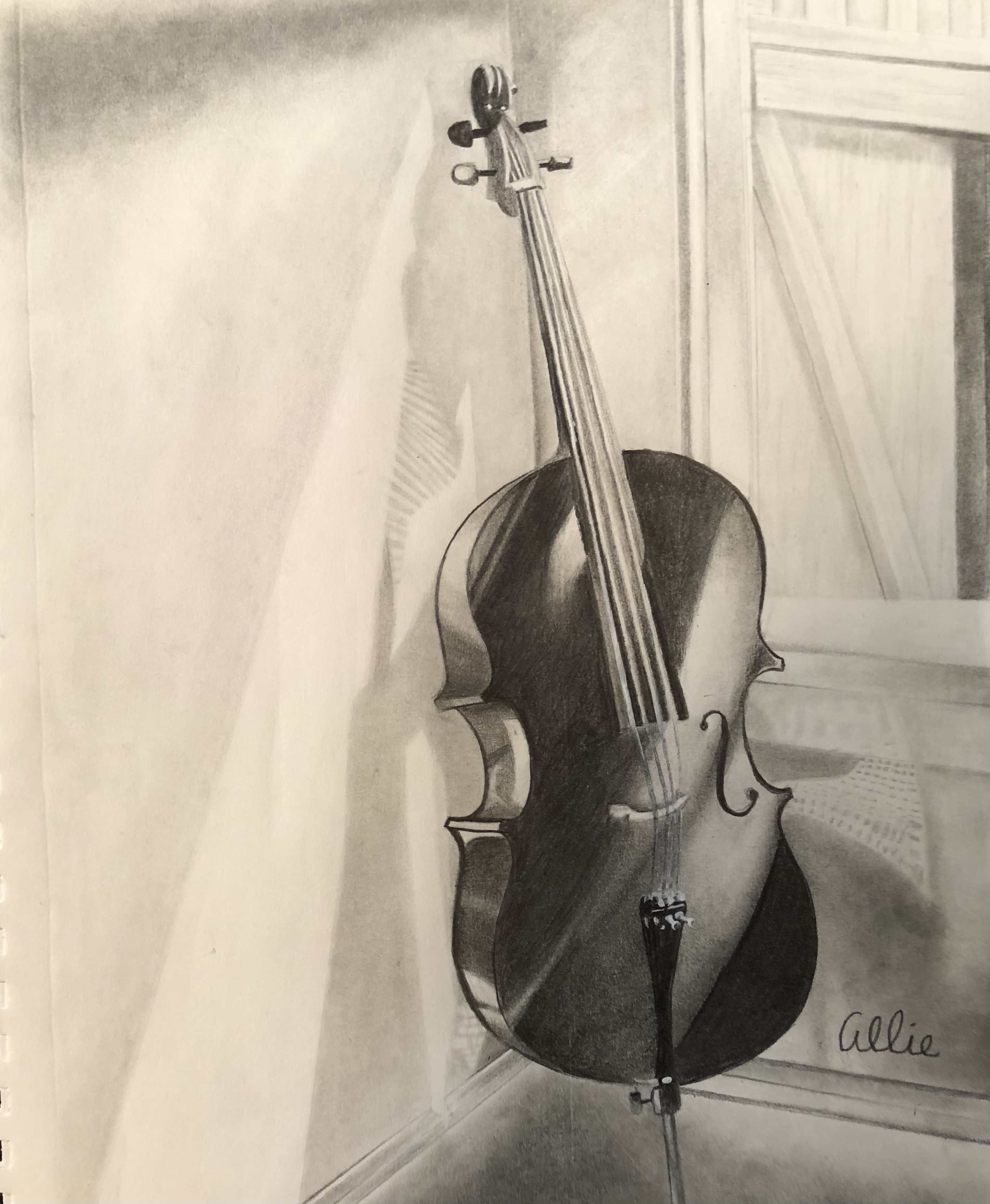 Sketchbook 14: Cello