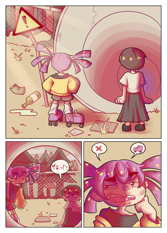 Dream journal comic 1