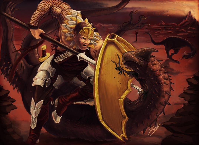 Barren Dragon Battle