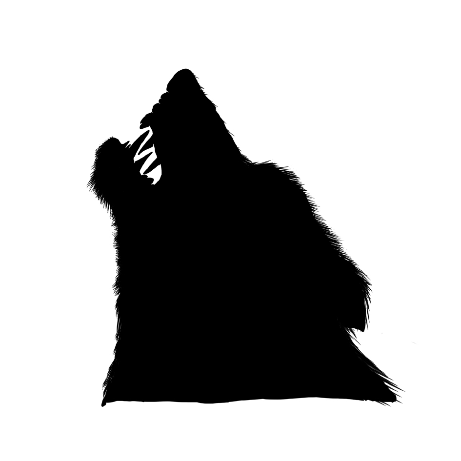 Silhouette - Wolf