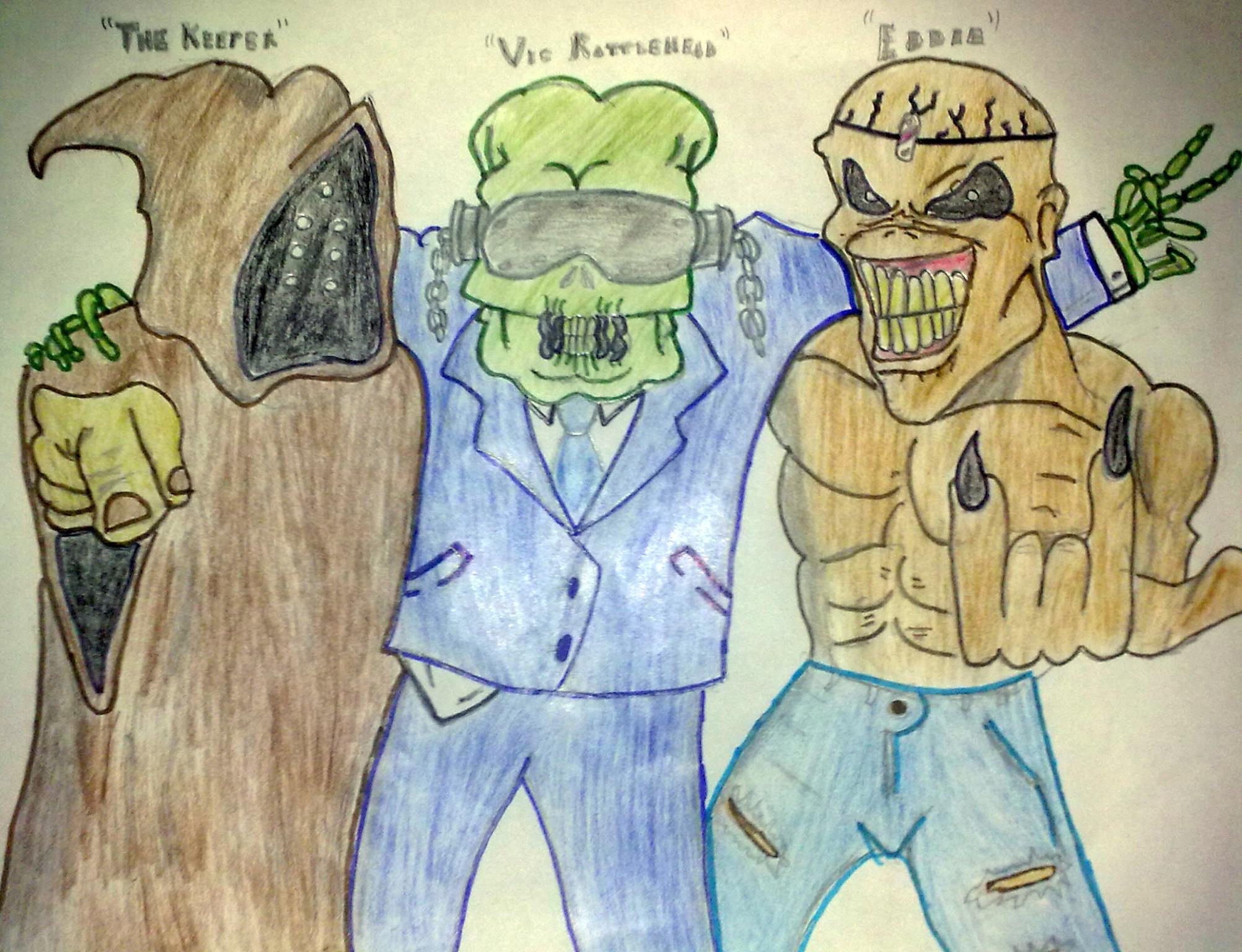 3 Metal Mascots