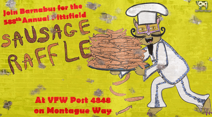 Barnabus Sausage Raffle
